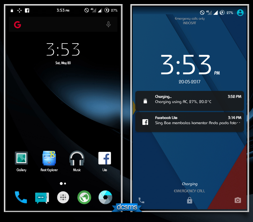 Rom 5 1 Stable Fireos Advan Vandroid I5c Sc9830 Welcome